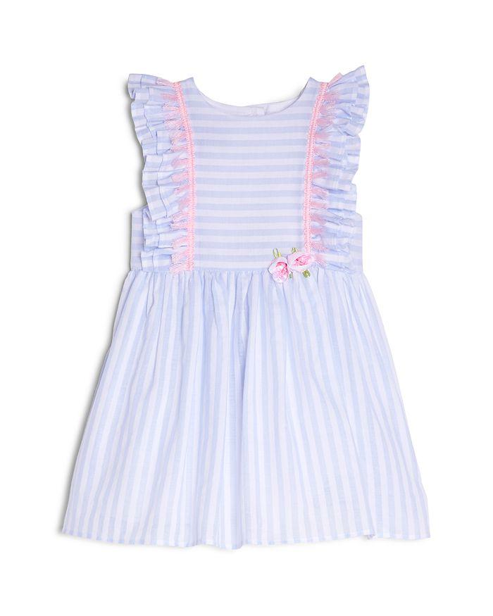 Pippa & Julie - Girls' Striped & Ruffled Dress - Baby