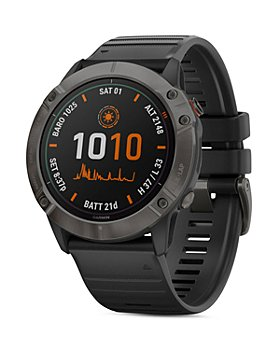 Garmin - Fenix 6X Pro Solar Titanium Smartwatch, 51mm