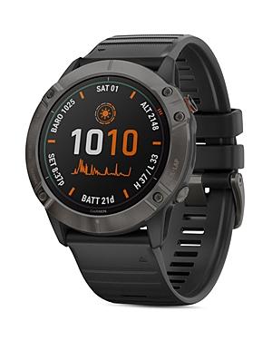 Garmin Fenix 6X Pro Solar Titanium Smartwatch, 51mm
