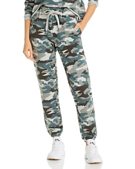 AQUA - Camo Boyfriend Sweatpants - 100% Exclusive