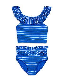 Habitual Kids - Girls' Briar Ruffled Two-Piece Swimsuit - Little Kid