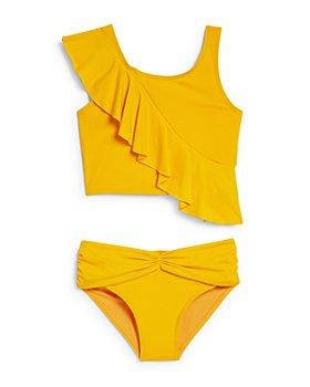 Habitual Kids - Girls' Joelle Ruffled Two-Piece Swimsuit - Little Kid