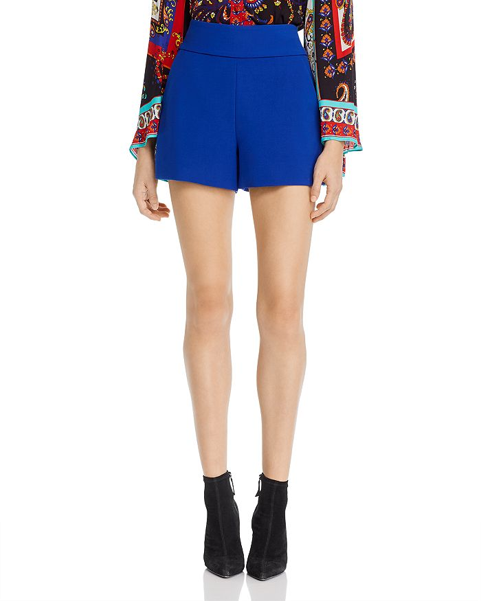 Alice and Olivia - Donald High-Rise Shorts