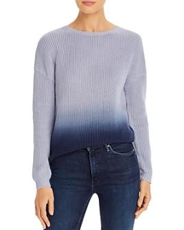 T Tahari - Ombré Crewneck Sweater