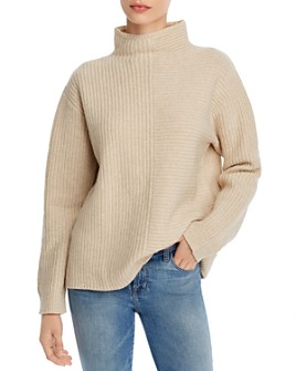 Theory - Oversize Funnel-Neck Sweater
