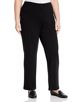 Eileen Fisher Plus - Straight-Leg Pants