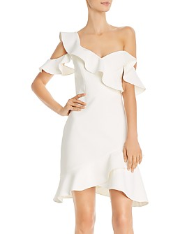 BCBGMAXAZRIA - Malik One-Shoulder Dress - 100% Exclusive