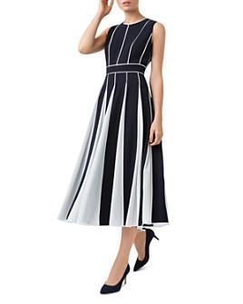 HOBBS LONDON - Grace Godet Midi Dress