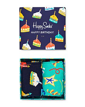 Happy Socks - Happy Birthday Gift Box - Pack of 2