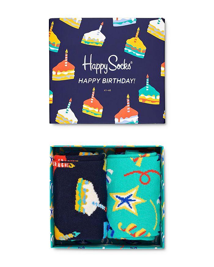 Happy Socks - Happy Birthday Gift Box - Pack of 2