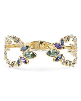Alexis Bittar - Pavé Crystal-Detail Open Hinge Bracelet