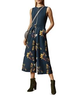 Ted Baker - Birgiit Savanna-Print Culotte Jumpsuit