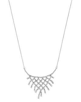 Bloomingdale's - Diamond Bib Necklace in 14K White Gold, 2.0 ct. t.w. - 100% Exclusive