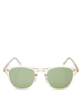 GARRETT LEIGHT - Men's Hampton Round Sunglasses, 48mm