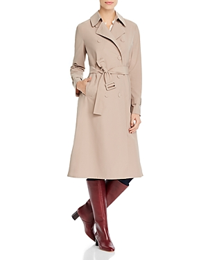 Harris Wharf Double-Breasted Trench Coat
