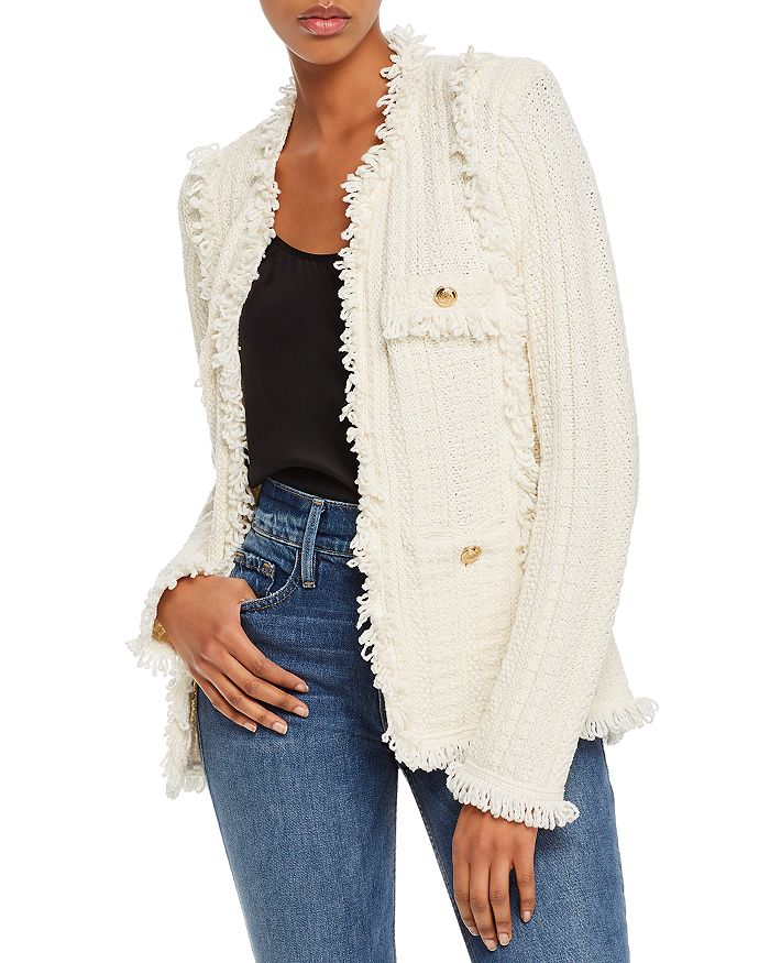 Lini Zoe Knit Jacket - 100% Exclusive In Ivory