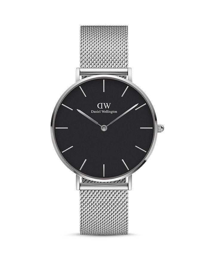 Daniel Wellington - Petite Sterling Mesh Bracelet Watch, 36mm