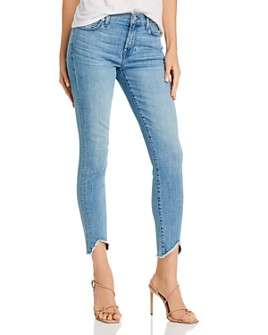 7 For All Mankind - Ankle Skinny Jeans in Alta Blue