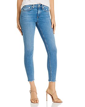 rag & bone - Cate Frayed Ankle Skinny Jeans in Palmer