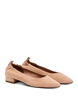 Aquatalia - Women's Pilara Weatherproof Pointed-Toe Flats