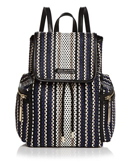Ted Baker - Allizza Woven Drawstring Backpack