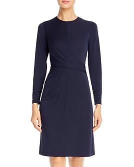 Elie Tahari - Winda Ruched Jersey Dress