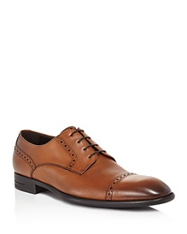 Ermenegildo Zegna - Men's Cap-Toe Derby Oxfords