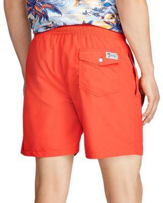 Mens Beach Swimming Trunks Pink Skull Bow Red Lip Swimsuit Swim Underwear Boardshorts with Pocket