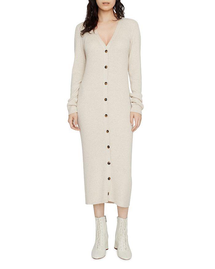 Sanctuary - Button-Front Sweater Dress