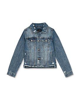Joe's Jeans - Girls' Distressed Denim Jacket - Big Kid