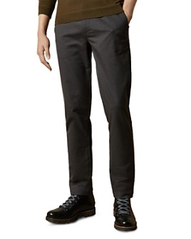 Ted Baker - Squishy Herringbone Slim Fit Trousers