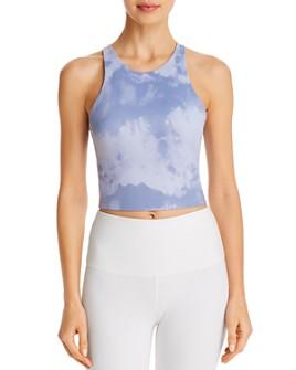 Beyond Yoga - Back At You Tie-Dye Cropped Tank