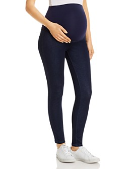 HUE - Ultra Soft Denim Maternity Leggings