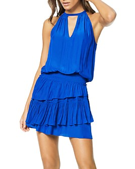 Ramy Brook - Alexandra Ruffled Blouson Mini Dress