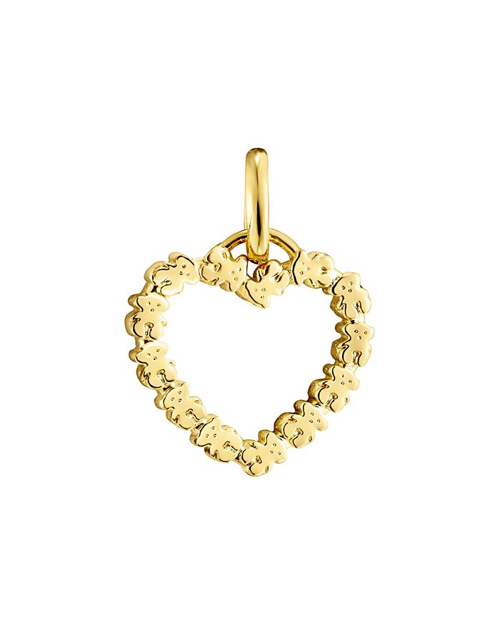 TOUS - 18K Yellow Gold San Valentine's Pendant