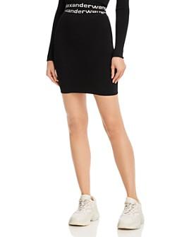 alexanderwang.t - Bodycon Mini Skirt