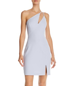 BCBGMAXAZRIA - One-Shoulder Cocktail Dress
