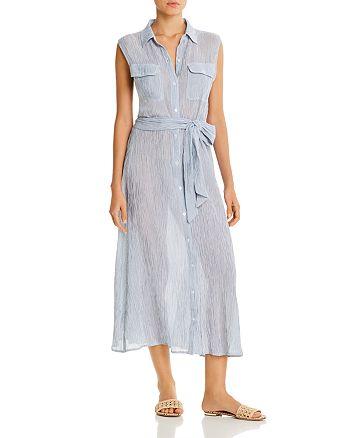 Ralph Lauren - Striped Maxi Shirt Dress