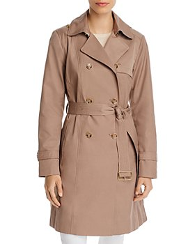 Cole Haan - Double-Breasted Button Front Coat