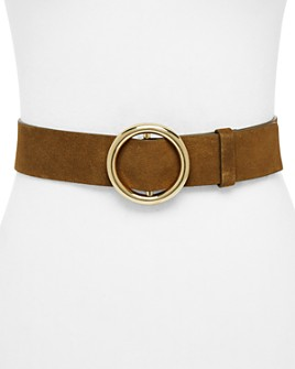 FRAME - O-Ring Suede Belt