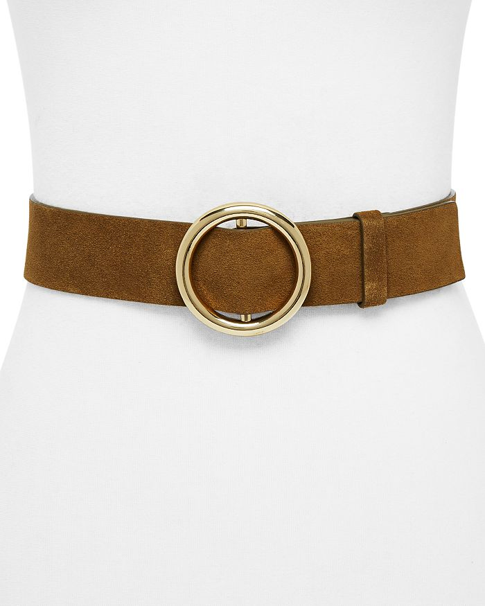 FRAME - O-Ring Suede Belt