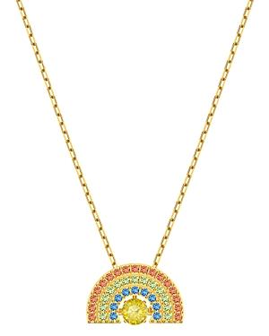 Swarovski Sparkling Dance Rainbow Pendant Necklace, 14.88