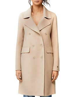 Soia & Kyo - Rive Double Face Wool-Blend Double-Breasted Front Coat