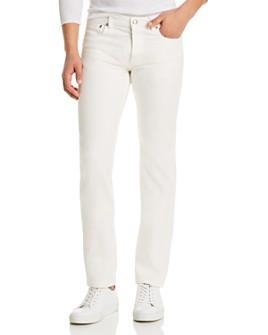 A.P.C. - Petit Standard Slim Straight Fit Jeans in Blanc