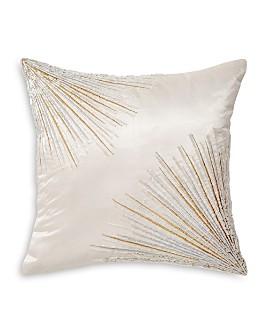 "Donna Karan - Seduction Collection Starburst Decorative Pillow, 12"" x 12"""