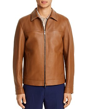 Theory - Roscoe Leather Regular Fit Jacket - 100% Exclusive
