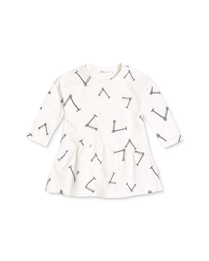 Miles Baby - Girls' Scooter Print Dress - Baby