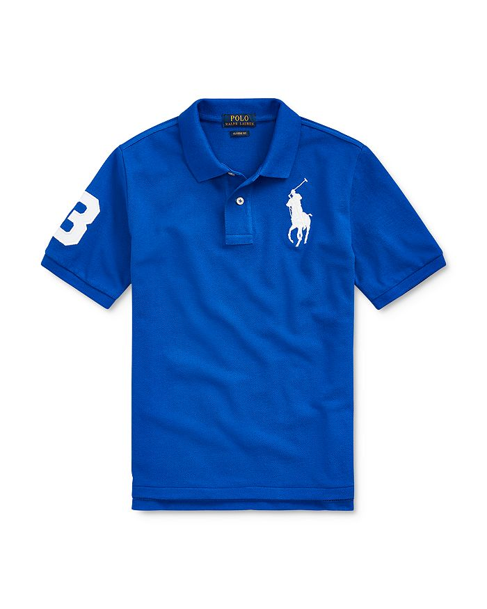 Ralph Lauren - Boys' Big Pony Cotton Mesh Polo - Little Kid, Big Kid