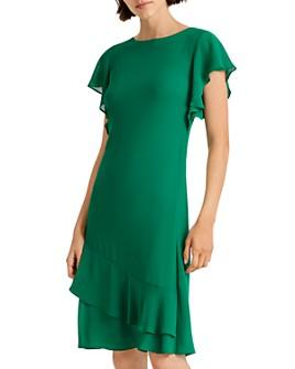 Ralph Lauren - Georgette Flutter Dress