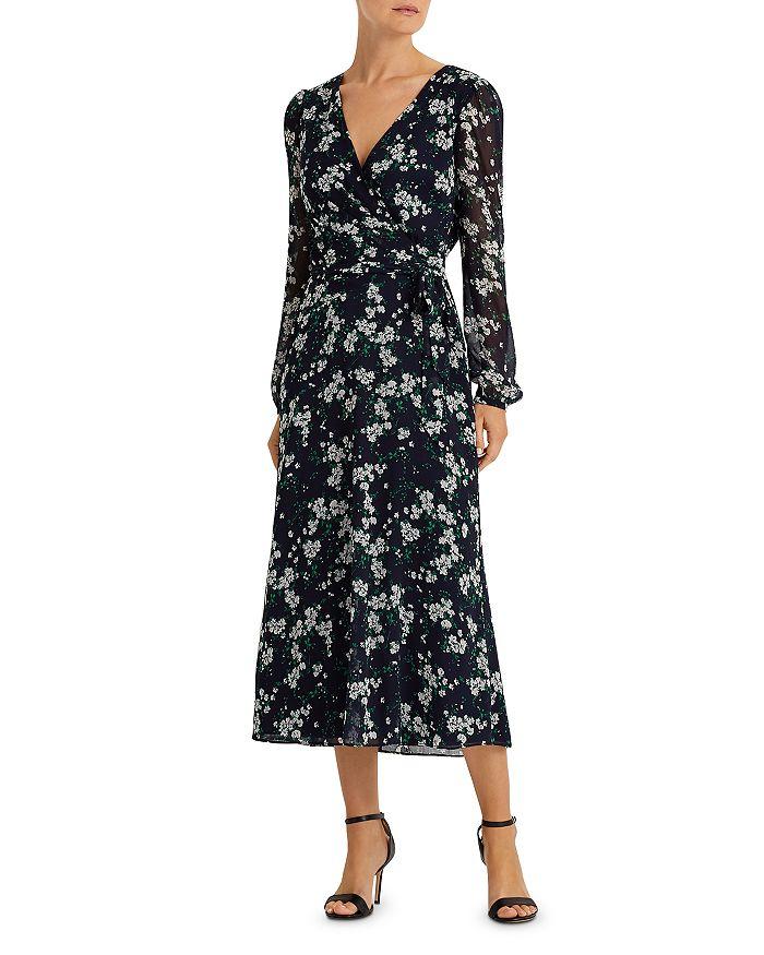 Ralph Lauren - Floral Georgette Faux-Wrap Dress